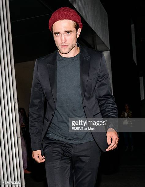 Actor Robert Pattinson is seen on May 18 2015 in New York City
