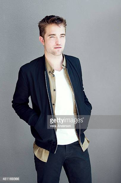 Actor Robert Pattinson poses for a portrait at 'The Rover' Press Conference on June 12 2014 in Beverly Hills California ON DOMESTIC EMBARGO UNTIL...