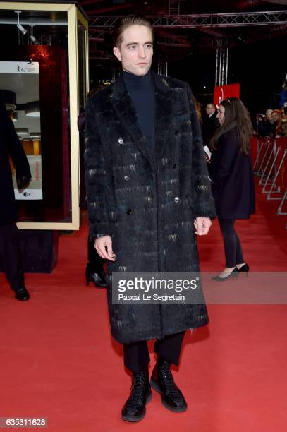 Actor Robert Pattison attends the 'The Lost City of Z' premiere during the 67th Berlinale International Film Festival Berlin at Zoo Palast on...