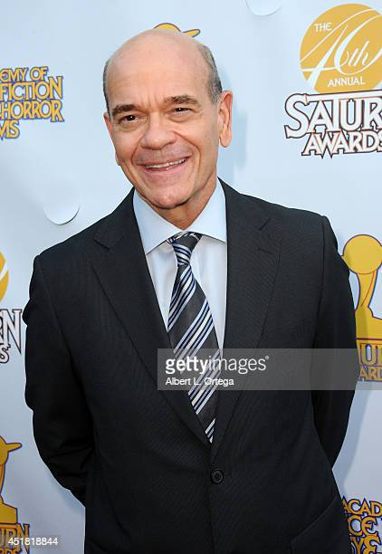 Actor Robert Picardo arrives for the 40th Annual Saturn Awards held at The Castaway on June 26 2014 in Burbank California