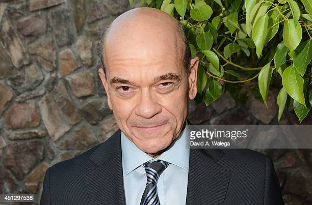 Actor Robert Picardo attends the Academy of Science Fiction Fantasy and Horror Films' 40th Annual Saturn Awards at The Castaway on June 26 2014 in...