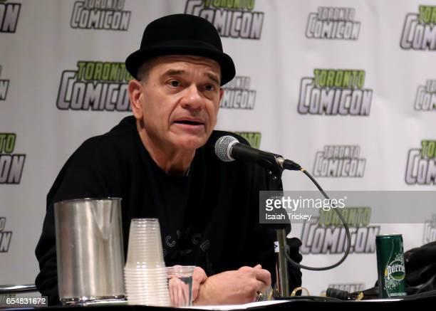 Actor Robert Picardo of 'Star Trek Voyager' attends Toronto ComiCon 2017 at Metro Toronto Convention Centre on March 17 2017 in Toronto Canada