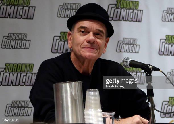 Actor Robert Picardo of 'Star Trek Voyager' attends Toronto ComiCon 2017 at Metro Toronto Convention Centre on March 17 2017 in Toronto Canada