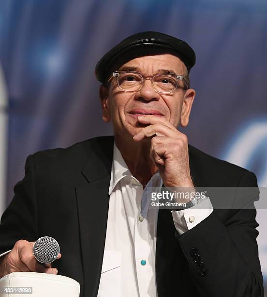Actor Robert Picardo speaks during 'Creation Entertainment's Salute to Star Trek Voyager's 20th Anniversary' panel at the 14th annual official Star...