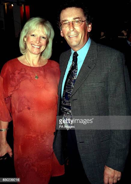 Actor Robert Powell and his wife Babs at the premiere of the rerelease of 'The Italian Job' on its 30th anniversary in London