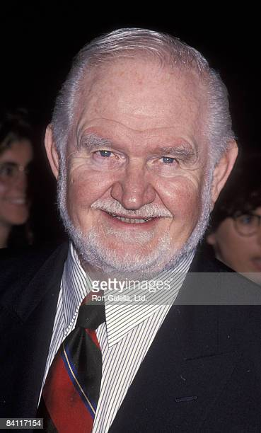 Actor Robert Prosky attends the premiere of 'Mrs Doubtfire' on November 22 1993 at the Academy Theater in Beverly Hills California