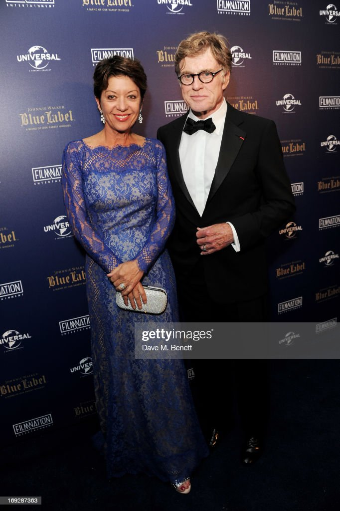 Johnnie Walker Blue Label Host Robert Redford's 'All Is Lost' Afterparty In Association With Universal And Film Nation