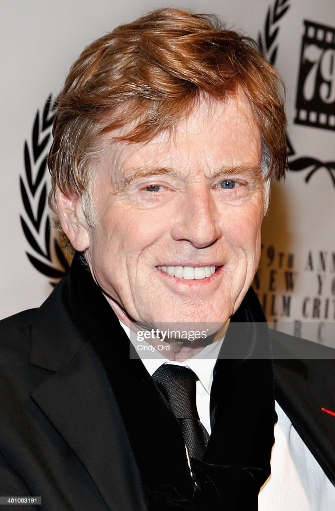 Actor <a gi-track='captionPersonalityLinkClicked' href=/galleries/search?phrase=Robert+Redford&family=editorial&specificpeople=202897 ng-click='$event.stopPropagation()'>Robert Redford</a> attends the 2013 New York Film Critics Circle Awards Ceremony at The Edison Ballroom on January 6, 2014 in New York City.