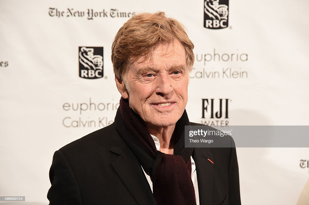 Actor Robert Redford attends the 25th Annual Gotham Independent Film Awards at Cipriani Wall Street on November 30 2015 in New York City