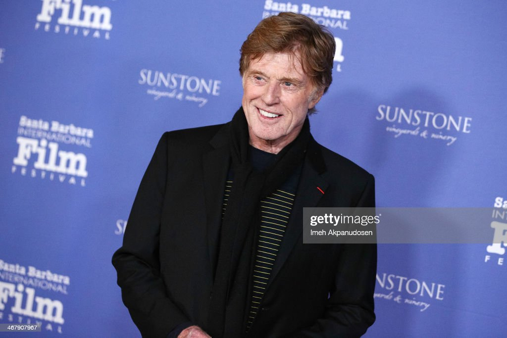Actor Robert Redford attends the 29th Santa Barbara International Film Festival American Riviera Award to Robert Redford at the Arlington Theatre on...