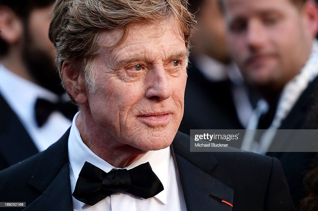 Actor Robert Redford attends the 'All Is Lost' Premiere during the 66th Annual Cannes Film Festival at Palais des Festivals on May 22, 2013 in Cannes, France.