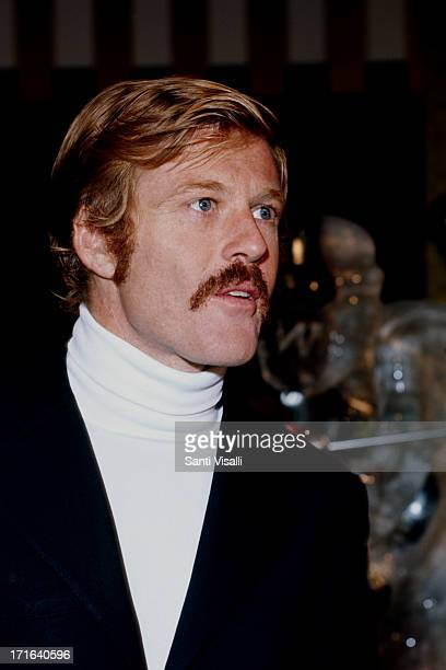 Actor Robert Redford during an interview on October 291969 in Reno Nevada