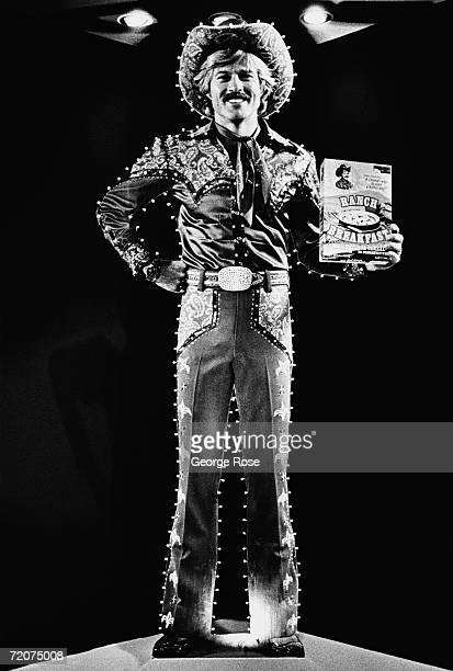Actor Robert Redford portrays a cowboy/corporate pitchman in a scene from the 1979 Las Vegas Nevada movie 'The Electric Horseman' The Sydney Pollack...