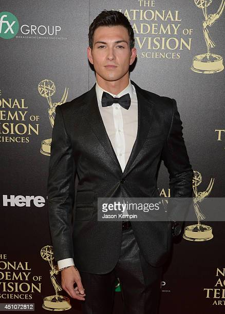 Actor Robert Scott Wilson attends The 41st Annual Daytime Emmy Awards at The Beverly Hilton Hotel on June 22 2014 in Beverly Hills California