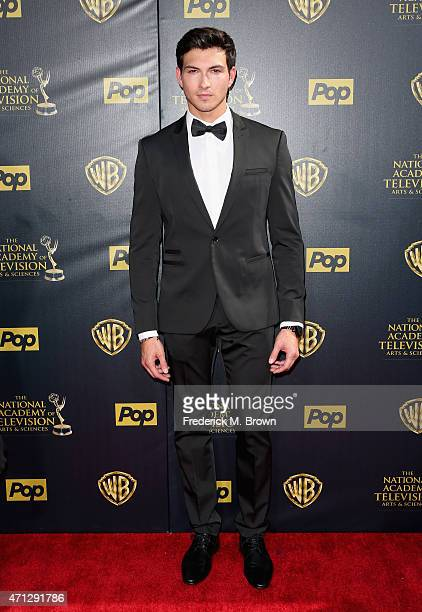 Actor Robert Scott Wilson attends The 42nd Annual Daytime Emmy Awards at Warner Bros Studios on April 26 2015 in Burbank California