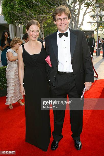 Actor Robert Sean Leonard and Gabriella Salick arrive to the starstudded gala for the reopening of the Mark Taper Forum hosted by Dame Edna on...