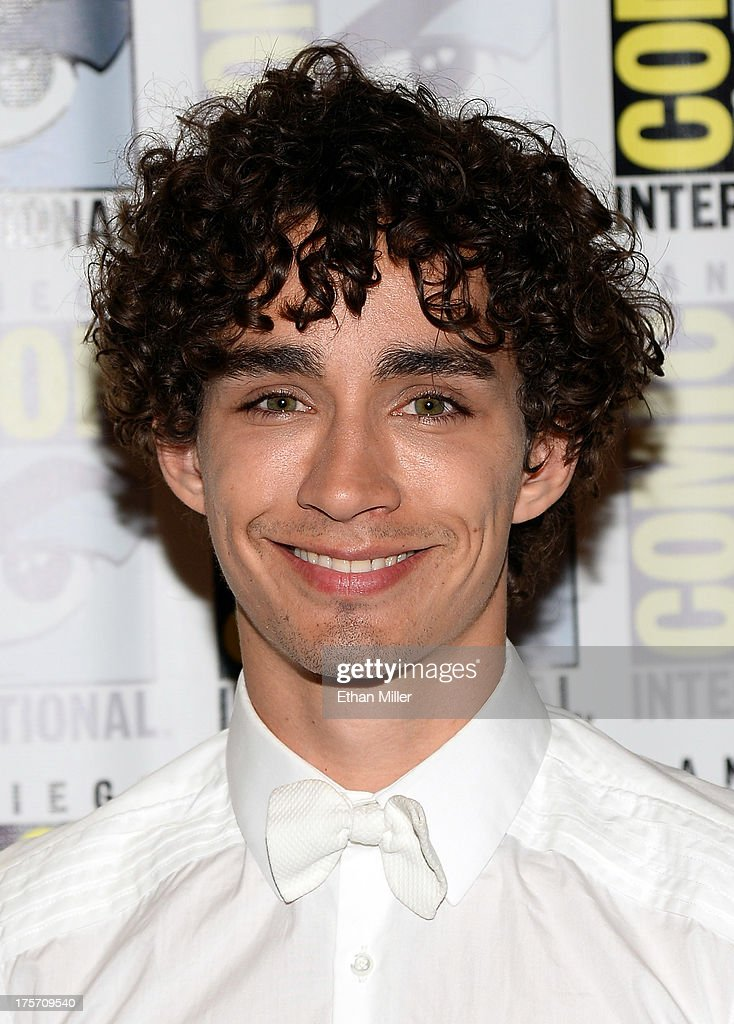 Actor Robert Sheehan attends 'The Mortal Instruments: City of Bones' press line at the Hilton San Diego Bayfront Hotel on July 19, 2013 in San Diego, California.