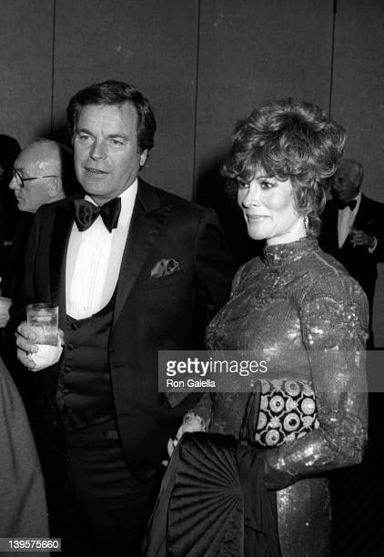 Actor Robert Wagner and actress Jill St John attend Frank and His FriendsValentine LoveIn II on February 12 1983 at the Canyon Hotel in Palm Springs...
