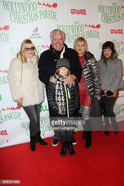 Actor Robert Wagner and family arrive at the 85th Annual Hollywood Christmas Parade on November 27 2016 in Hollywood California