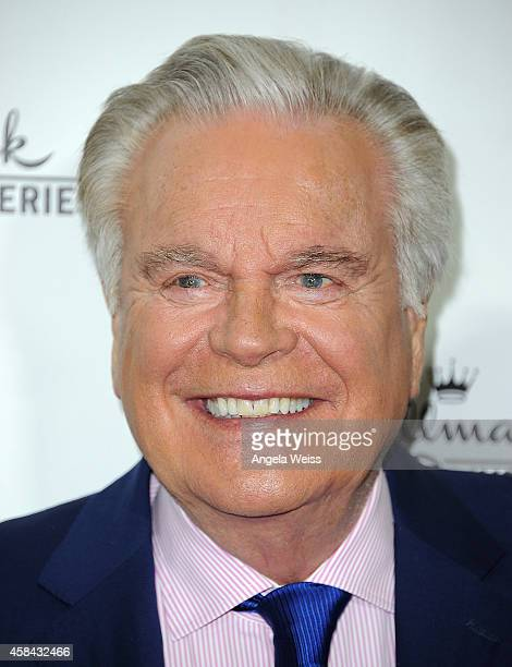 Actor Robert Wagner arrives at Hallmark Channel's annual holiday event premiere screening of 'Northpole' at La Piazza Restaurant on November 4 2014...