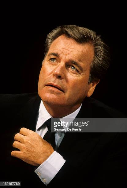 Actor Robert Wagner in London on September 26 1990