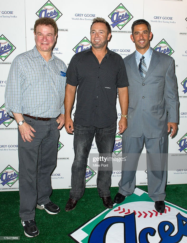 Actor Robert Wuhl, MLB Network Analyst Kevin Millar, and Former New York Yankee Jorge Posada attend the ACES Annual All Star Party at Marquee on July 14, 2013 in New York City.