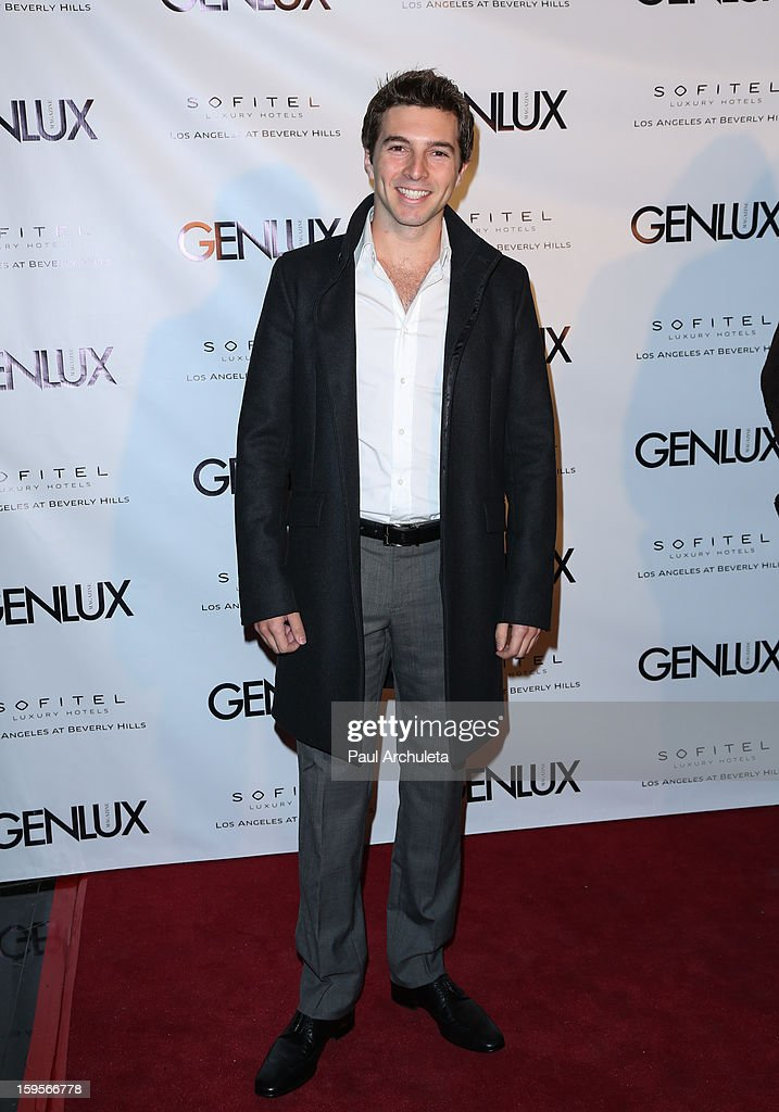 Actor Roberto Aguire attends the opening of the new bar Riviera 31 at the Sofitel L.A. Hotel on January 15, 2013 in Beverly Hills, California.