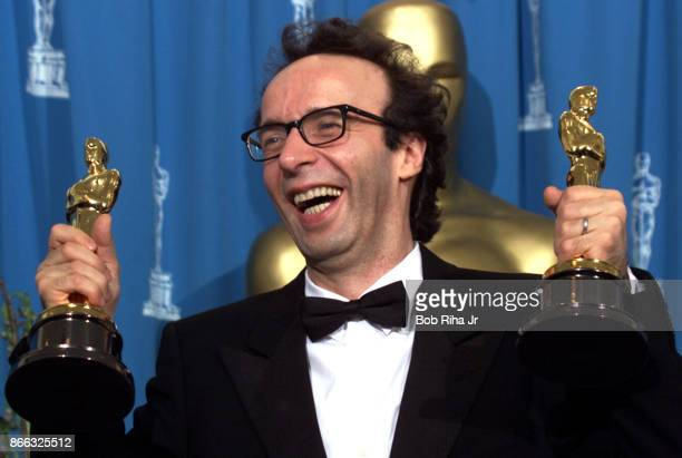 Actor Roberto Benigni at the 71st Annual Academy Awards March 211999 In Los Angeles California