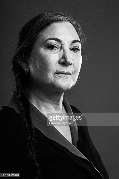 Actor Robin Bartlett is photographed on May 23 2015 in Cannes France