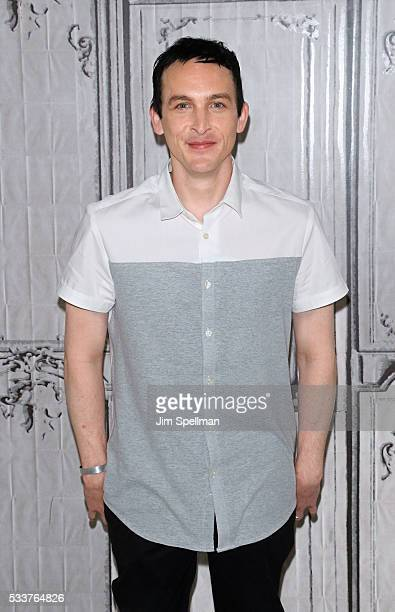 Actor Robin Lord Taylor attends AOL Build Presents Robin Lord Taylor Of 'Gotham' at AOL Studios on May 23 2016 in New York City