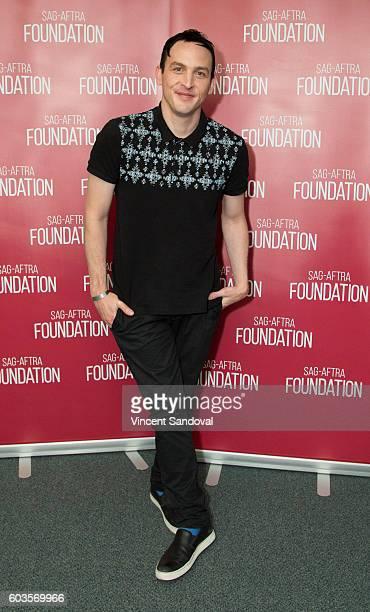 Actor Robin Lord Taylor attends SAGAFTRA Foundation Conversations for 'Gotham' at SAGAFTRA Foundation on September 12 2016 in Los Angeles California