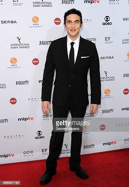 Actor Robin Lord Taylor attends the 43rd International Emmy Awards on November 23 2015 in New York City