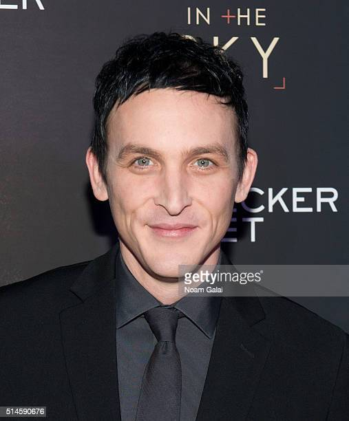 Actor Robin Lord Taylor attends the 'Eye In The Sky' New York premiere at AMC Loews Lincoln Square 13 theater on March 9 2016 in New York City