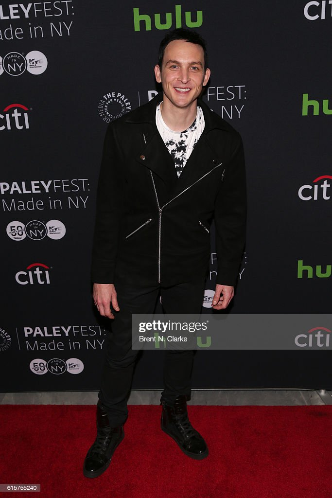 Actor Robin Lord Taylor attends the 'Gotham' panel discussion and screening during PaleyFest New York 2016 held at The Paley Center for Media on October 19, 2016 in New York City.