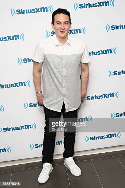 Actor Robin Lord Taylor visits the SiriusXM Studio on May 23 2016 in New York City