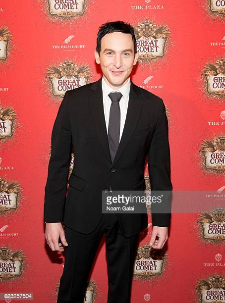 Actor Robin Taylor attends the after party for the 'Natasha Pierre The Great Comet Of 1812' opening night on Broadway at The Plaza Hotel on November...