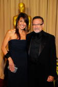 Actor Robin Williams and Susan Schneider arrive backstage at the 82nd Annual Academy Awards held at Kodak Theatre on March 7 2010 in Hollywood...