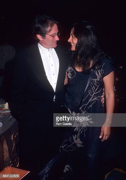 Actor Robin Williams and wife Marsha attend the Westin Rio Mar Beach Resort Celebrity Sports Invitational Awards Dinner and Auction to Benefit the...