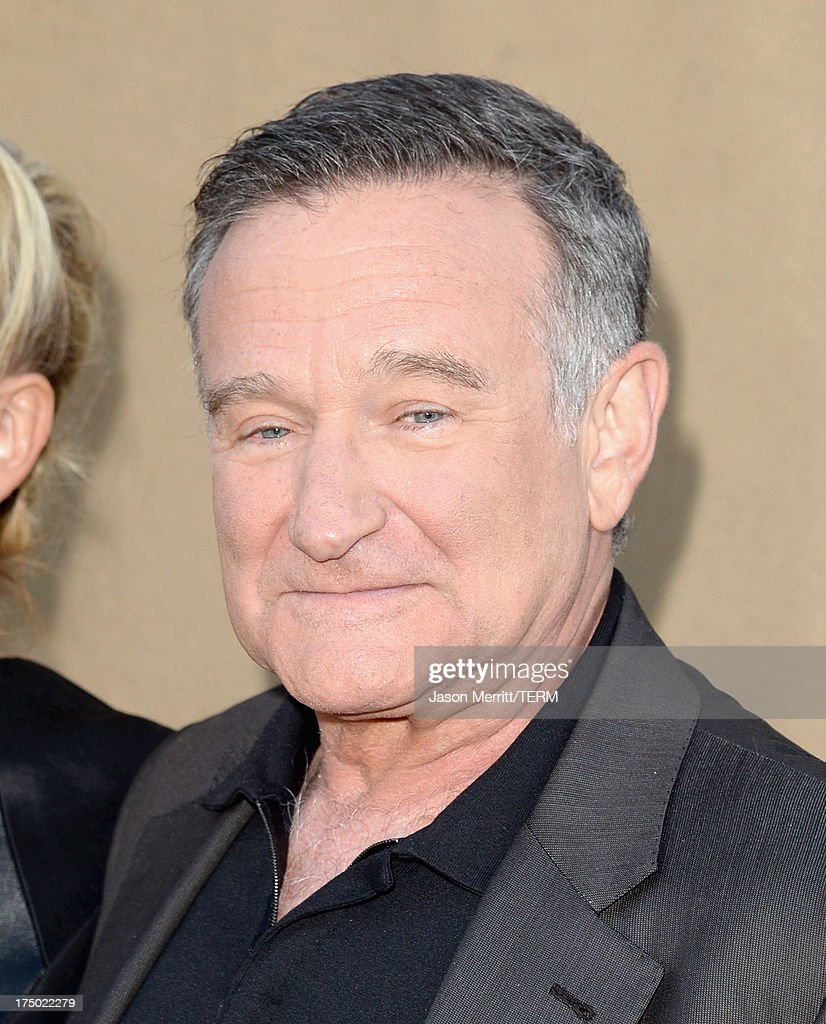 Actor Robin Williams arrives at the CW CBS and Showtime 2013 summer TCA party on July 29 2013 in Los Angeles California