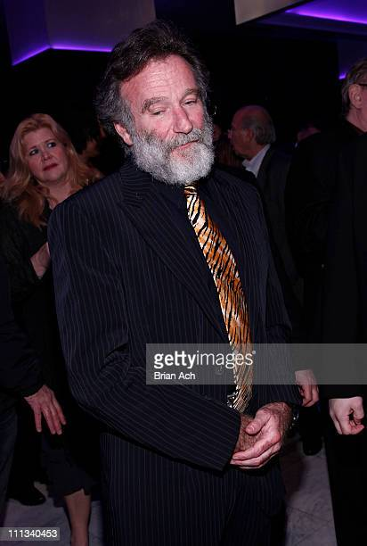 Actor Robin Williams attends the after party for opening night of 'Bengal Tiger At The Baghdad Zoo' at Espace on March 31 2011 in New York City