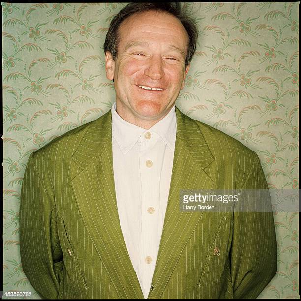 Actor Robin Williams is photographed for The Observer Magazine on February 27 1999 in London England