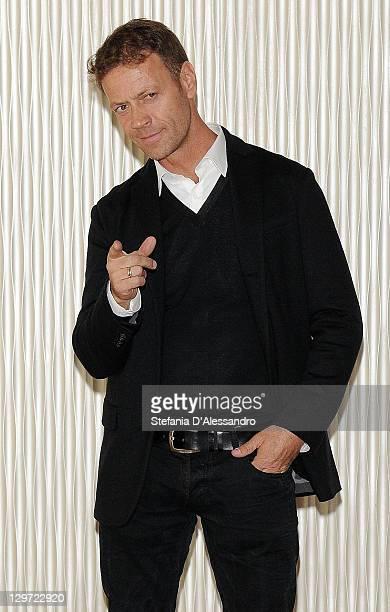 Actor Rocco Siffredi attends 'Matrimonio A Parigi' Photocall at Terrazza Martini on October 20 2011 in Milan Italy