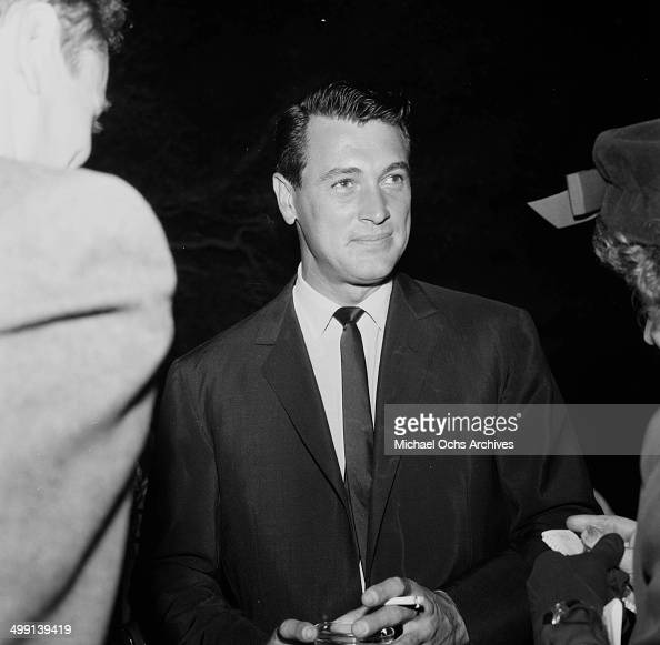 how tall is rock hudson