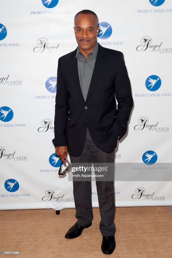 Actor Rocky Carroll attends Project Angel Food's 17th Annual Angel Awards at Project Angel Food on August 18, 2012 in Los Angeles, California.