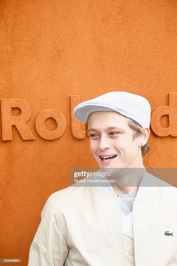 Actor <a gi-track='captionPersonalityLinkClicked' href=/galleries/search?phrase=Rod+Paradot&family=editorial&specificpeople=14595057 ng-click='$event.stopPropagation()'>Rod Paradot</a> attends the 2016 French Tennis Open - Day Three at Roland Garros on May 24, 2016 in Paris, France.
