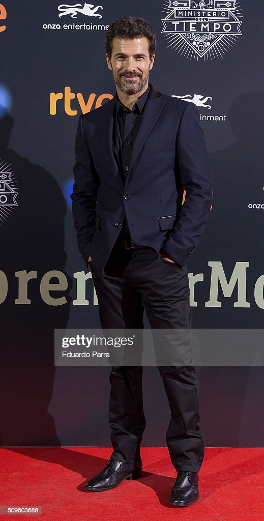 Actor <a gi-track='captionPersonalityLinkClicked' href=/galleries/search?phrase=Rodolfo+Sancho&family=editorial&specificpeople=5717157 ng-click='$event.stopPropagation()'>Rodolfo Sancho</a> attends 'El Ministerio del Tiempo' second season premiere at Capitol cinema on February 11, 2016 in Madrid, Spain.