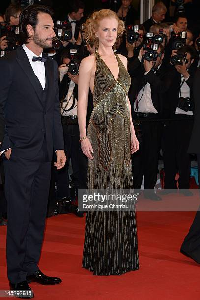 Actor Rodrigo Santoro and actress Nicole Kidman attend the 'Hemingway Gellhorn' Premiere during the 65th Annual Cannes Film Festival at Palais des...