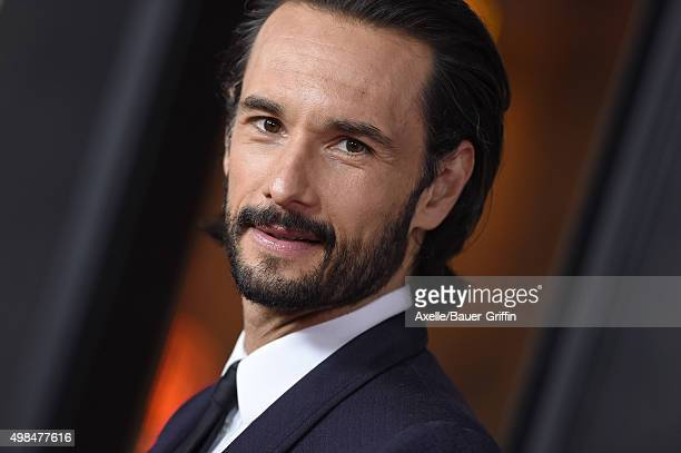 Actor Rodrigo Santoro arrives at the AFI FEST 2015 Presented By Audi Centerpiece Gala Premiere of 'The 33' at TCL Chinese Theatre on November 9 2015...