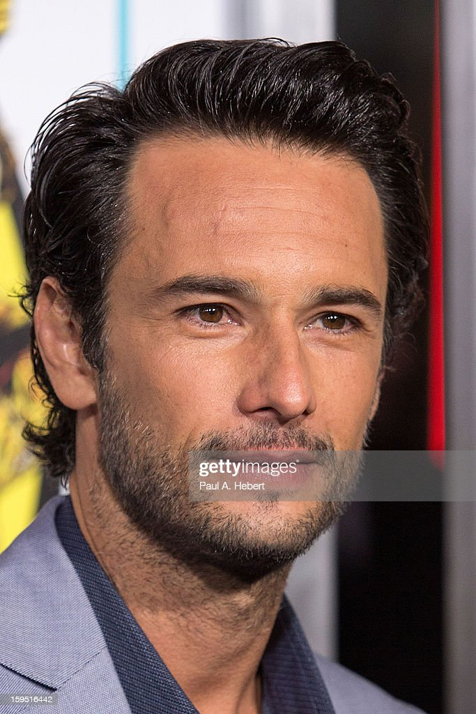 Actor <a gi-track='captionPersonalityLinkClicked' href=/galleries/search?phrase=Rodrigo+Santoro&family=editorial&specificpeople=208948 ng-click='$event.stopPropagation()'>Rodrigo Santoro</a> arrives at the premiere of Lionsgate Films' 'The Last Stand' held at Grauman's Chinese Theatre on January 14, 2013 in Hollywood, California.
