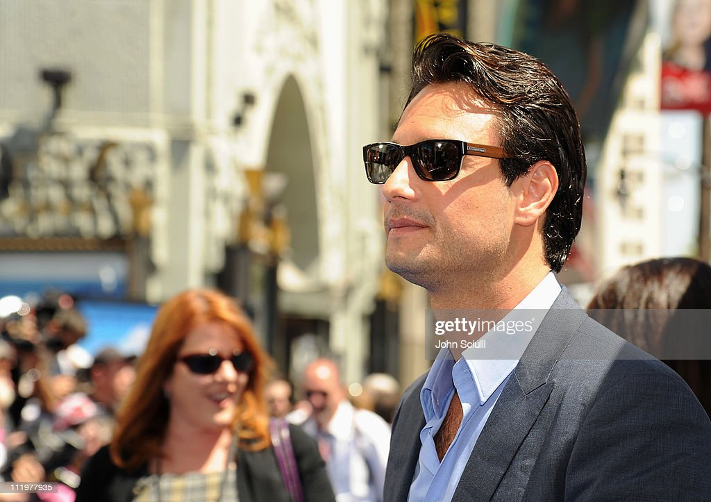 Actor Rodrigo Santoro arrives for the premiere of Twentieth Century Fox & Blue Sky Studios' 'RIO' on April 10, 2011 in Hollywood, California.